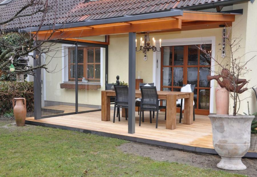 terrasse beschattung baumann glas 1886 gmbh objektbau glasbau wintergarten. Black Bedroom Furniture Sets. Home Design Ideas